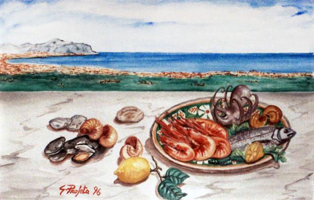 Frutti di mare a Palermo