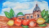 Frutta a piazza Pretoria