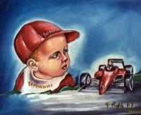 Giovanni con berrettino rosso