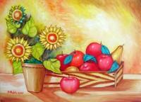 Girasoli con frutta