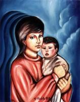Mamma con bambino