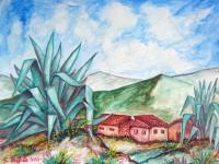 Paesaggio con zabbara