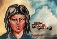 Ragazza con F1