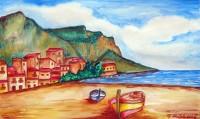 Spiaggia all'Arenella